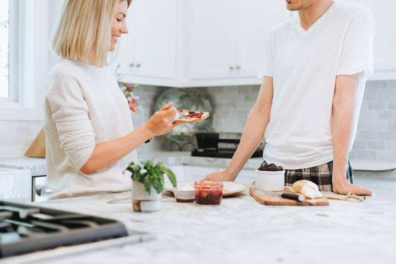 Bachelor Pad Kitchen Interior Design