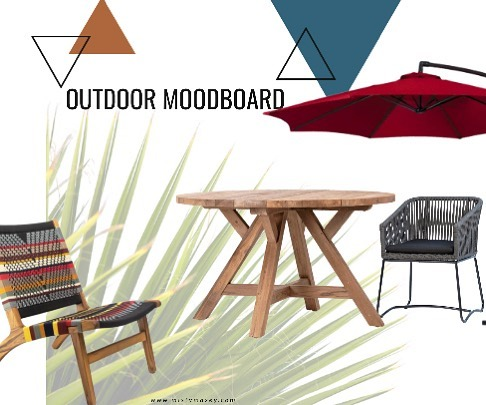 There's still plenty of sunny days for outdoor furniture ✨🤘🏻#moodboardmonday