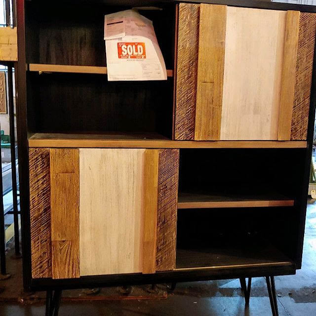 @cityhomepdx in the Pearl is moving which means great deals like this @noirfurniture cabinet I just scored for the Hagen House Project 🙌🏻 go check it out it's ending Sept 30th!