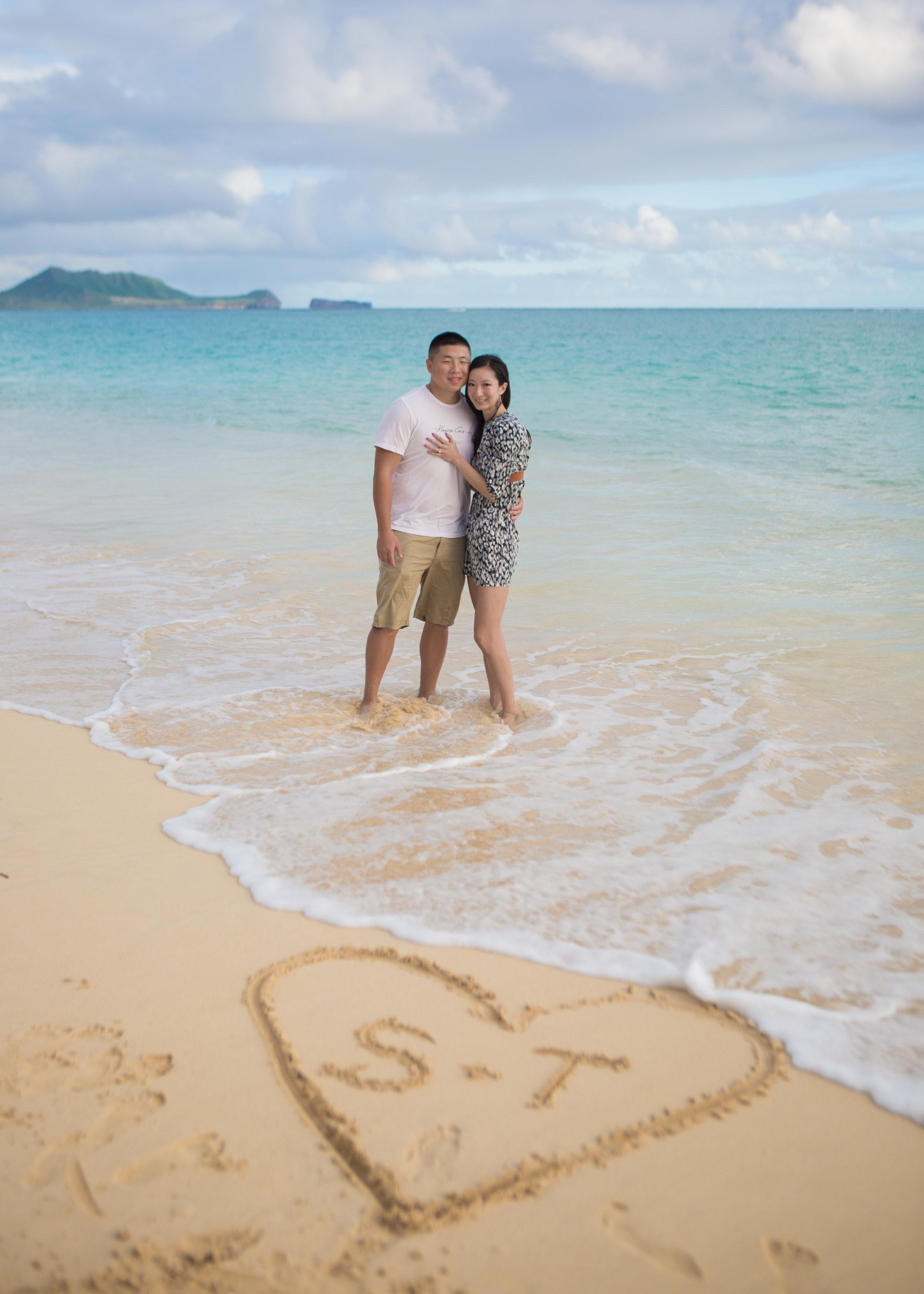 Lanikai Engagement Photos