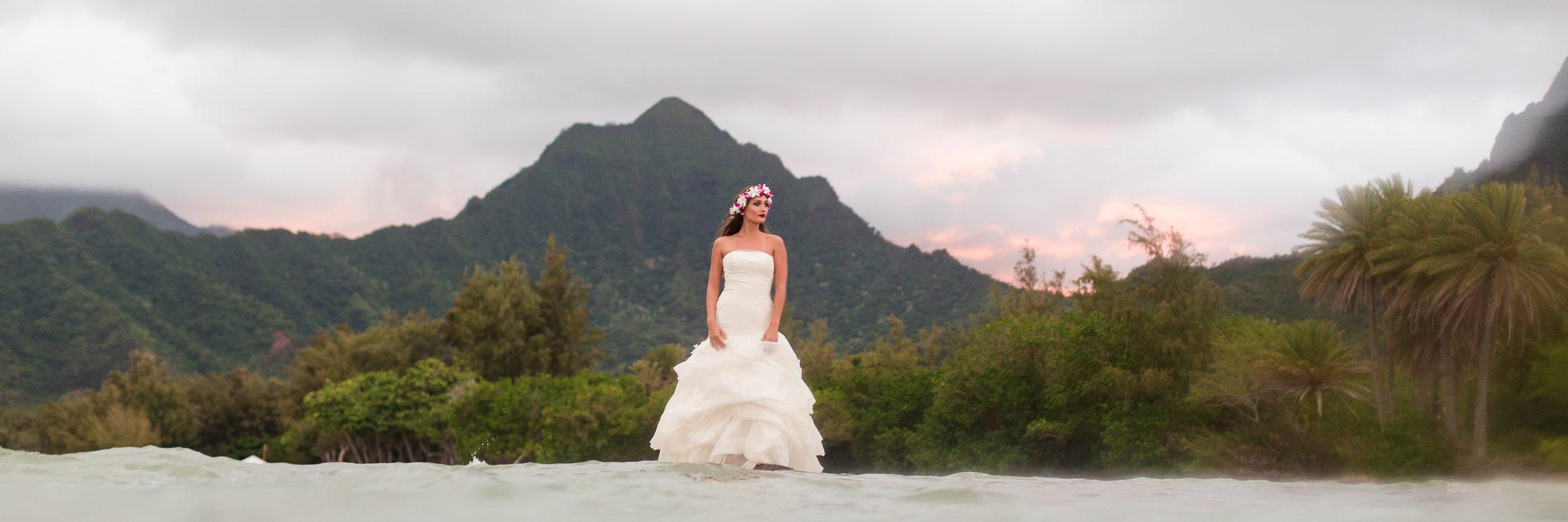 Kuoloa Ranch Hawaii Wedding