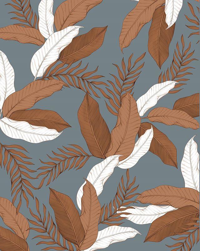 Ink Palms • • •  #surfacedesign #surfacepattern #textiledesign #printandpattern #patterndesign #textiles #textilepattern #patterns #pattern #moraisdrawing #bythelittleislandgirl #procreate #patternobserver #patternoftheday #womanwhodraw #wearepremierevision #surtex #patterndesign #patternbank #surfacedesigner #repeatpattern #ilustagram #patternity #thepatterncurator #girlboss #girlbosslife #surfacepatterncommunity #patterlicious #fridayillustration #botanicalillustration