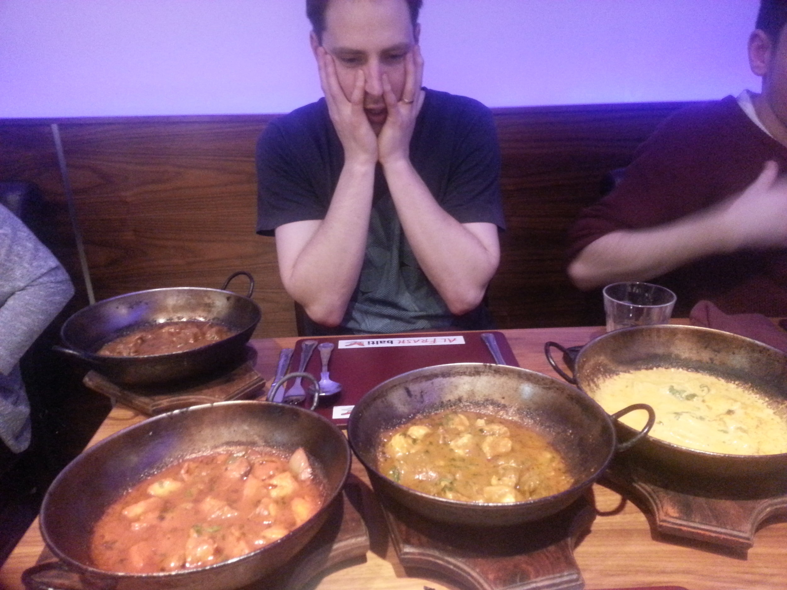 Never to much curry
