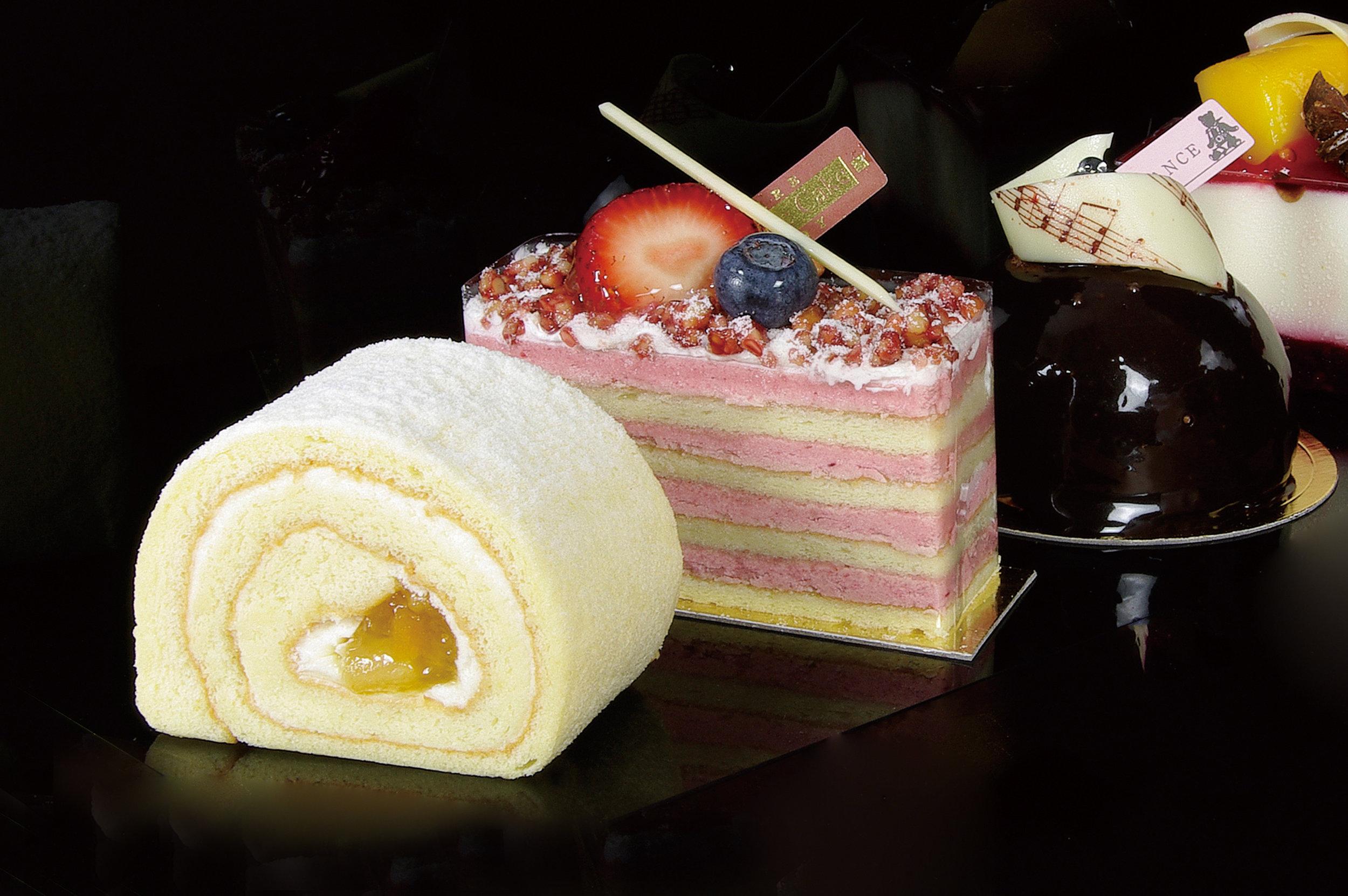 > 麵包糕點