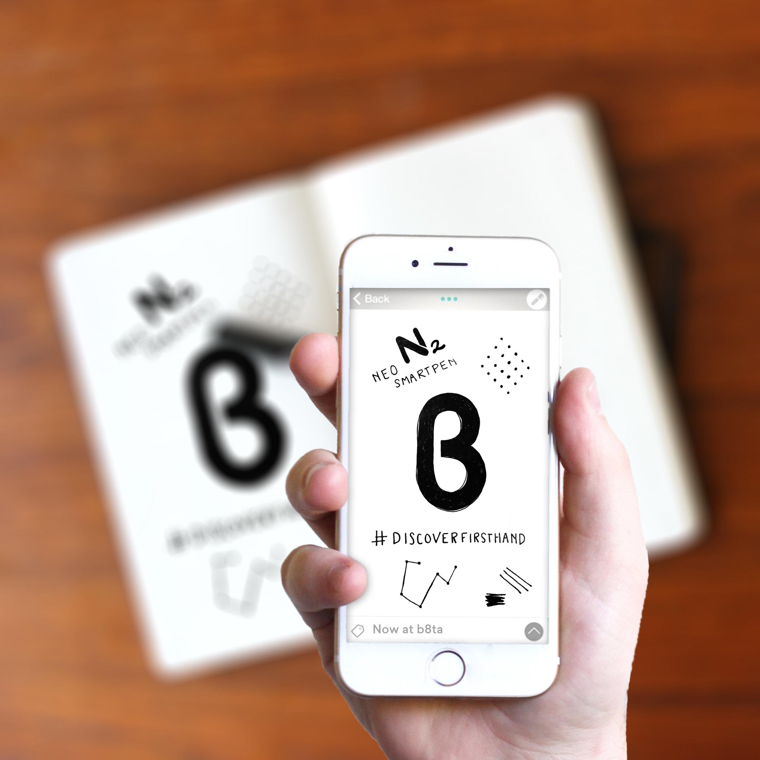 Neo Smartpen for b8ta