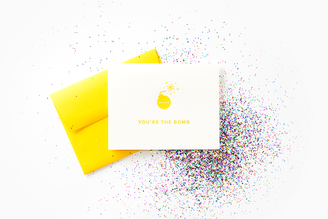 Glitterbomb for BloomThat