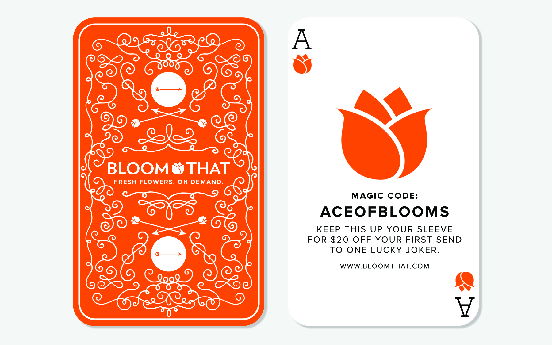 Influencer Card for BloomThat