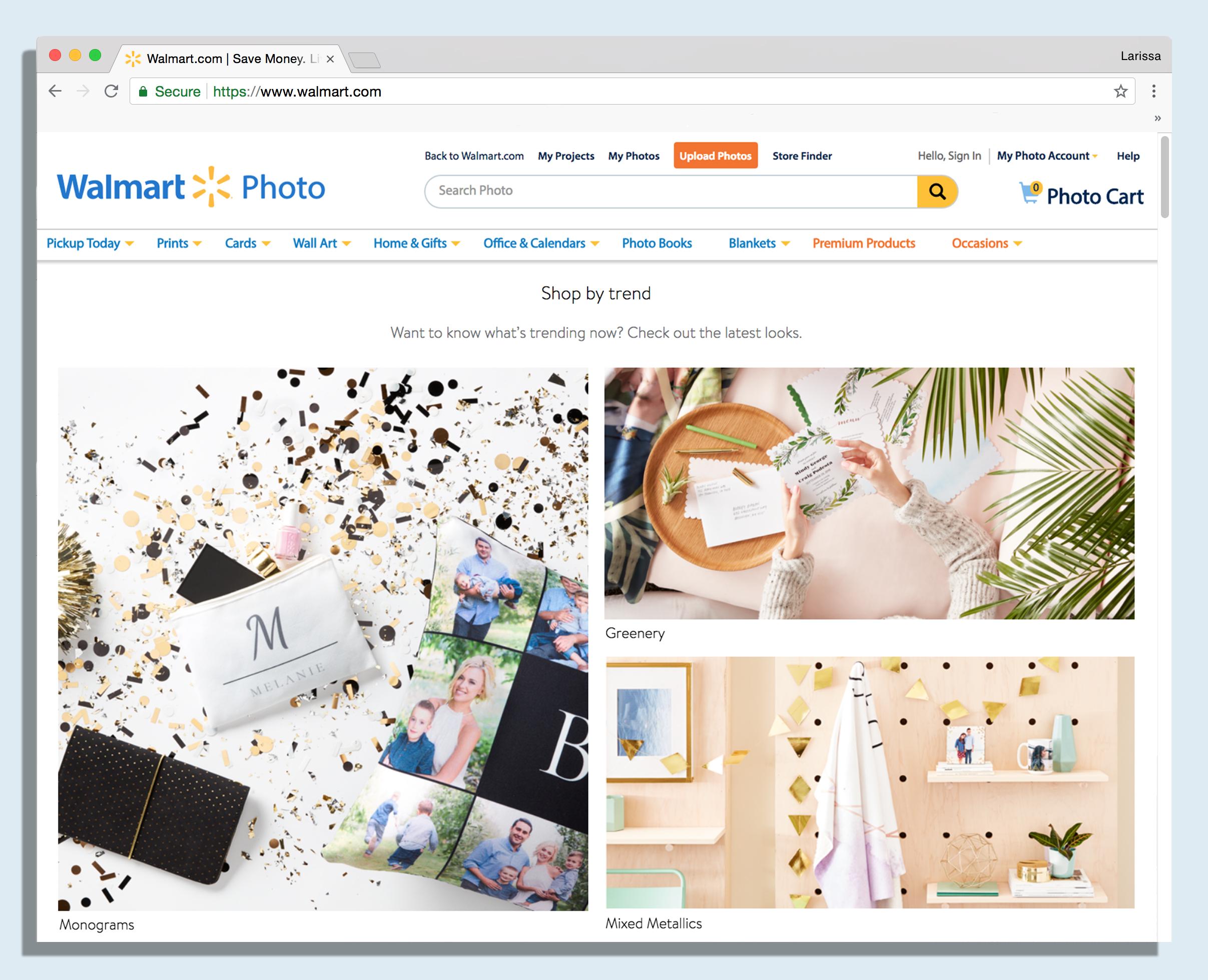 Walmart Premium Photo