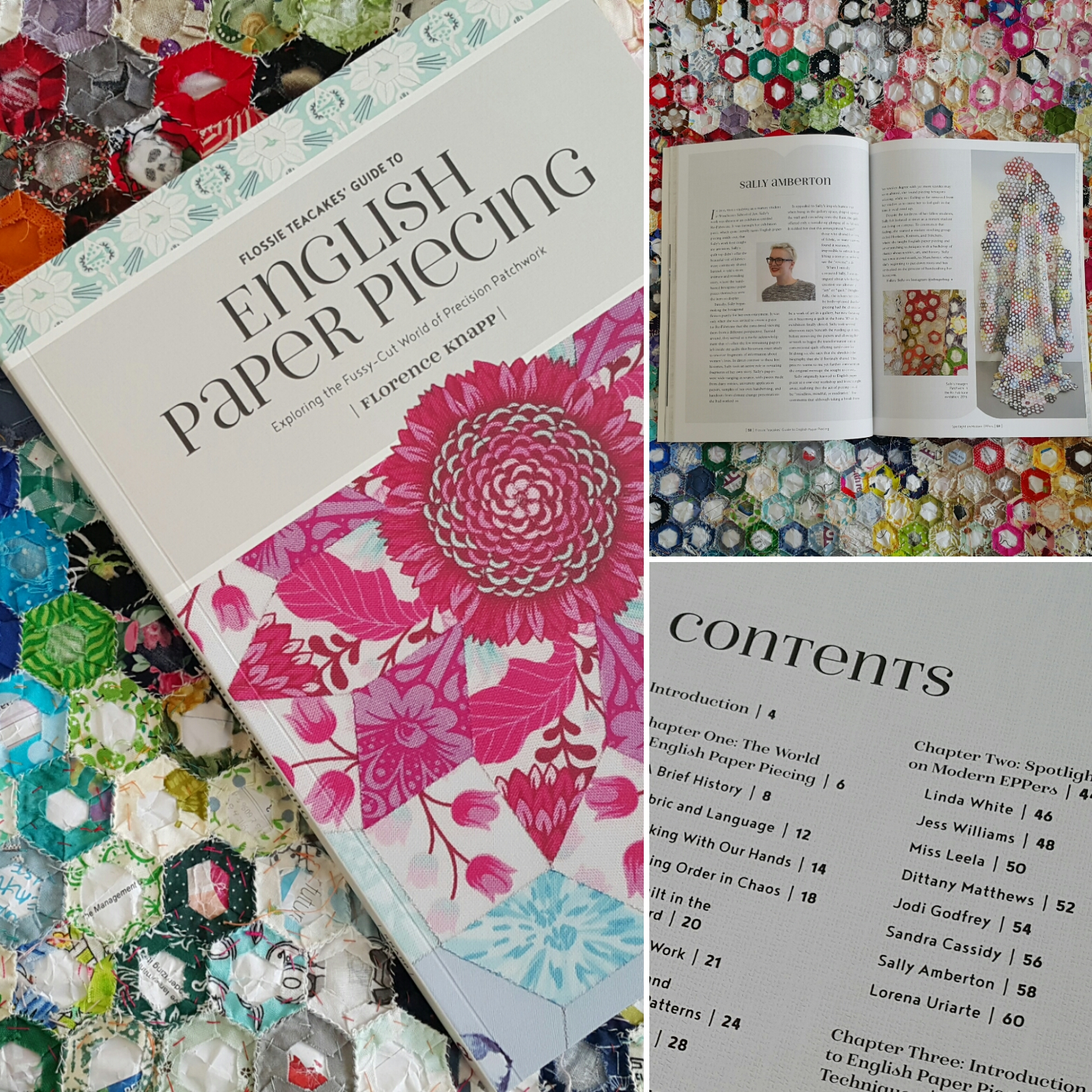 Flossie Teacakes' Guide to English Paper Piecing - Find it on Amazon