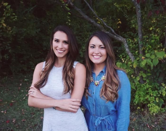 Pictured: Antoinette (right), Lauren (left)