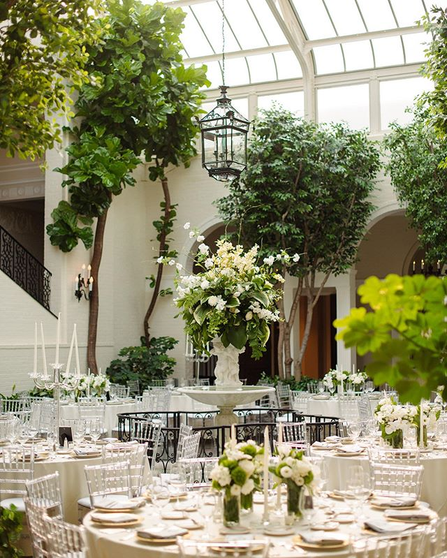 Fox Chapel Golf Club is one of the venues that we were most looking forward to working this year and when we had the opportunity to do so for C + B's dream of a wedding day, it certainly did not disappoint! We're still swooning over the greenery and overall garden aesthetic that is showcased in this stunning space. Talk about a pretty dining space.🌿 Photography @michaelwillpro