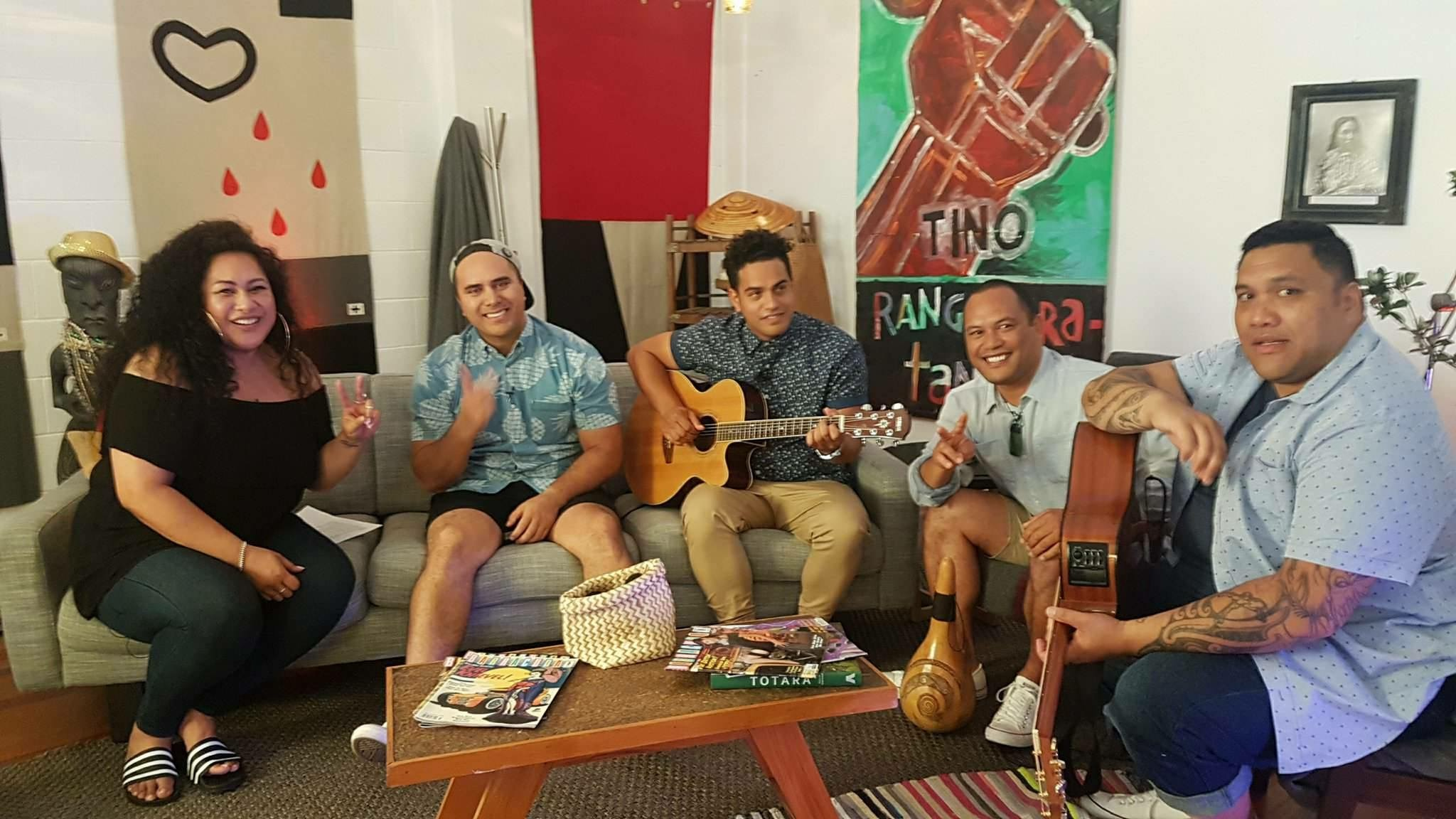 Modern Māori Quartet with the amazing Bella Kalolo (My Party Song S2)