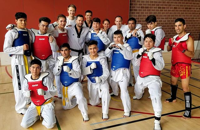 #taekwondo #fightingspirit #trainingweekend #kerenzerberg #competitiontraining #squadstyle #kihap