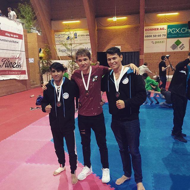 #swisschampionship #teamspirit #greatday #taekwondo #kyorugi #competition #wattwil #firsttournament #medals