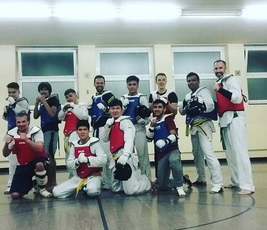 #competitiontraining #taekwondo #olympicstyle #kihap #zurich #taekwondosquadzurich #fight