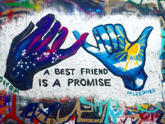 #bestfriends #bestfriendisapromise #love #besties #bff #graffiti #graffitiart