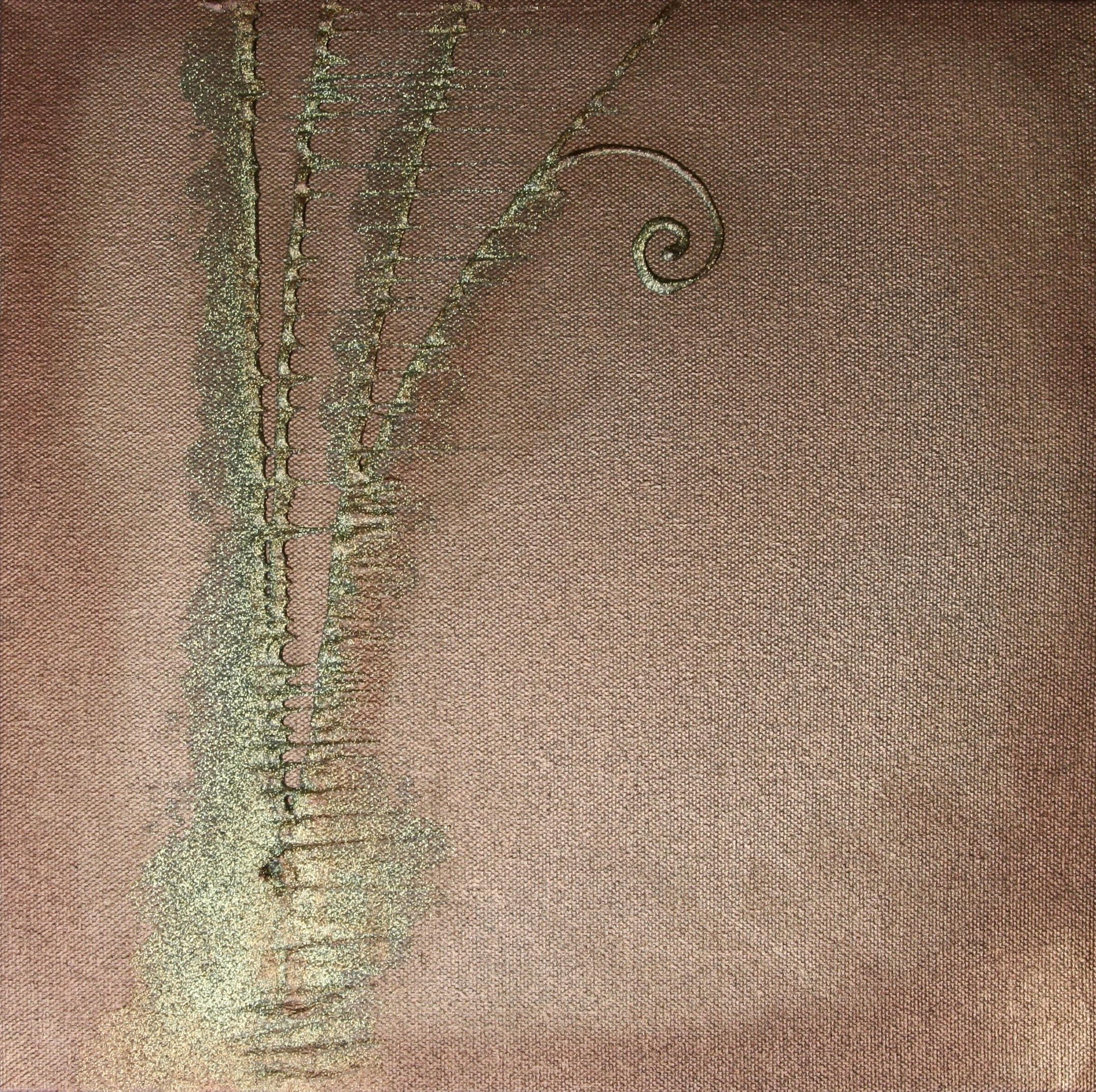 Reach   acrylic on canvas   12 x 12    sold