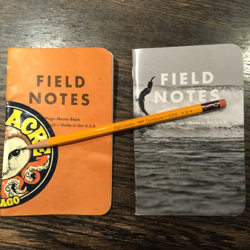 Field Notes! Is that really Butcher Orange?