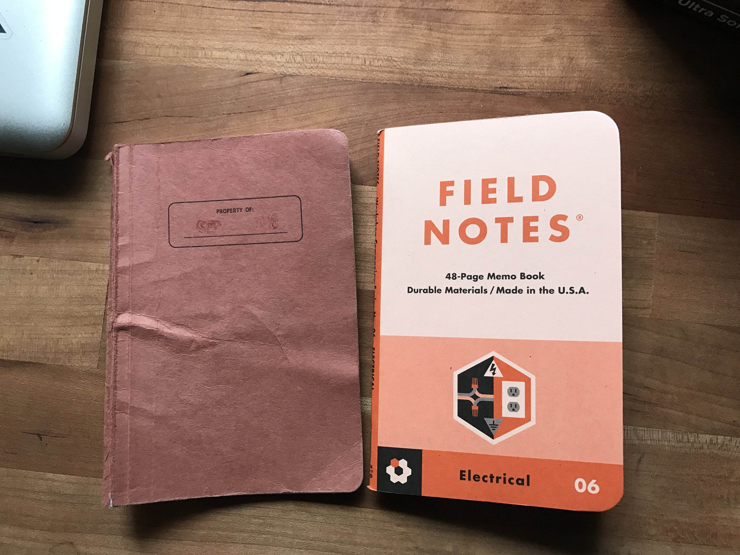 Going into fall with a nice orange EDC book.