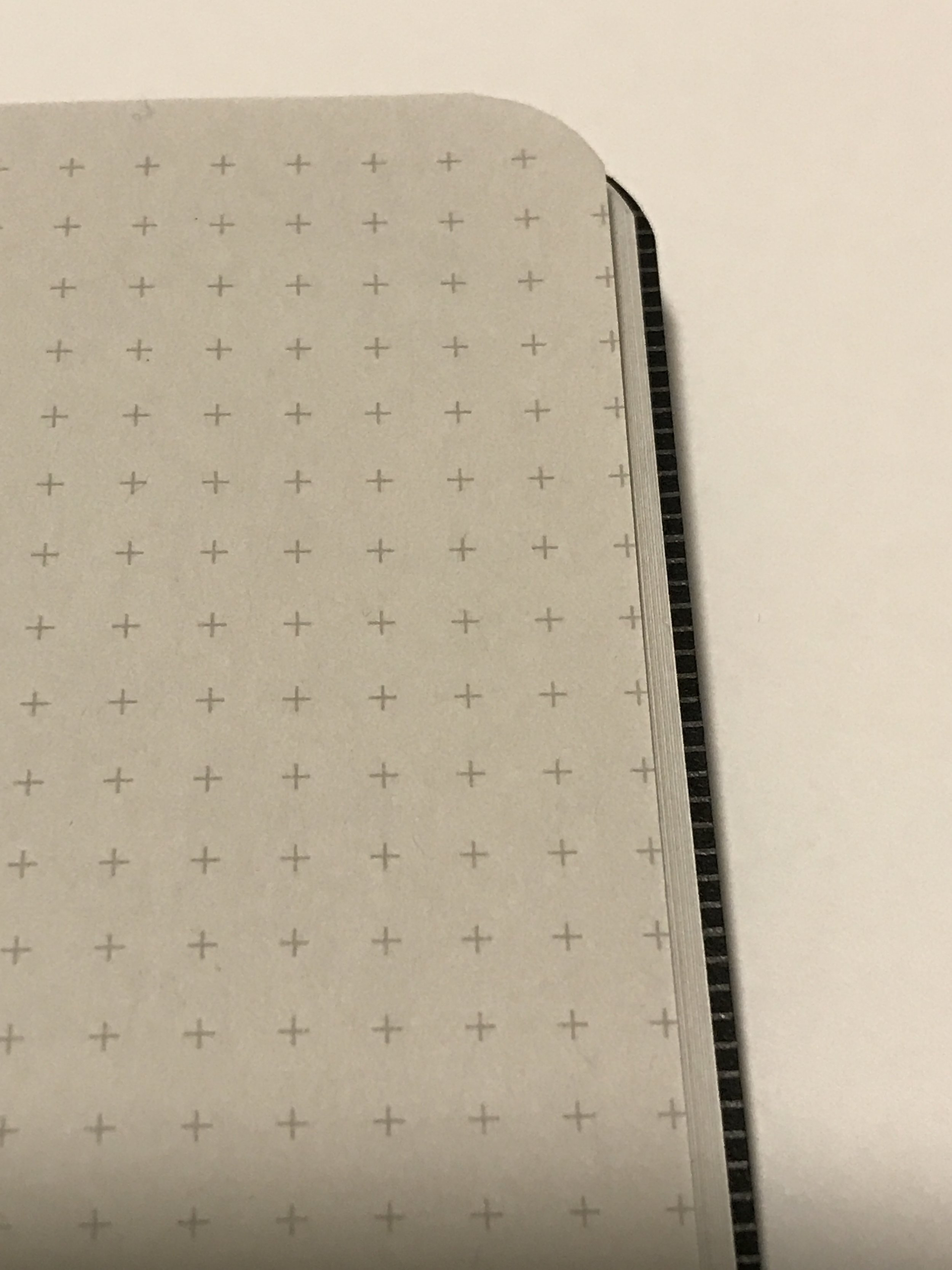 Just a dust of gray on the paper and a light gray for the grid.
