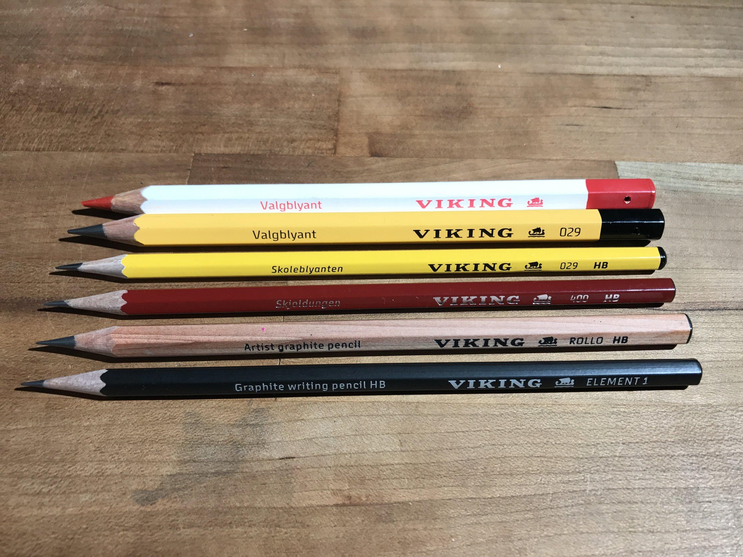 A good looking set of sticks.