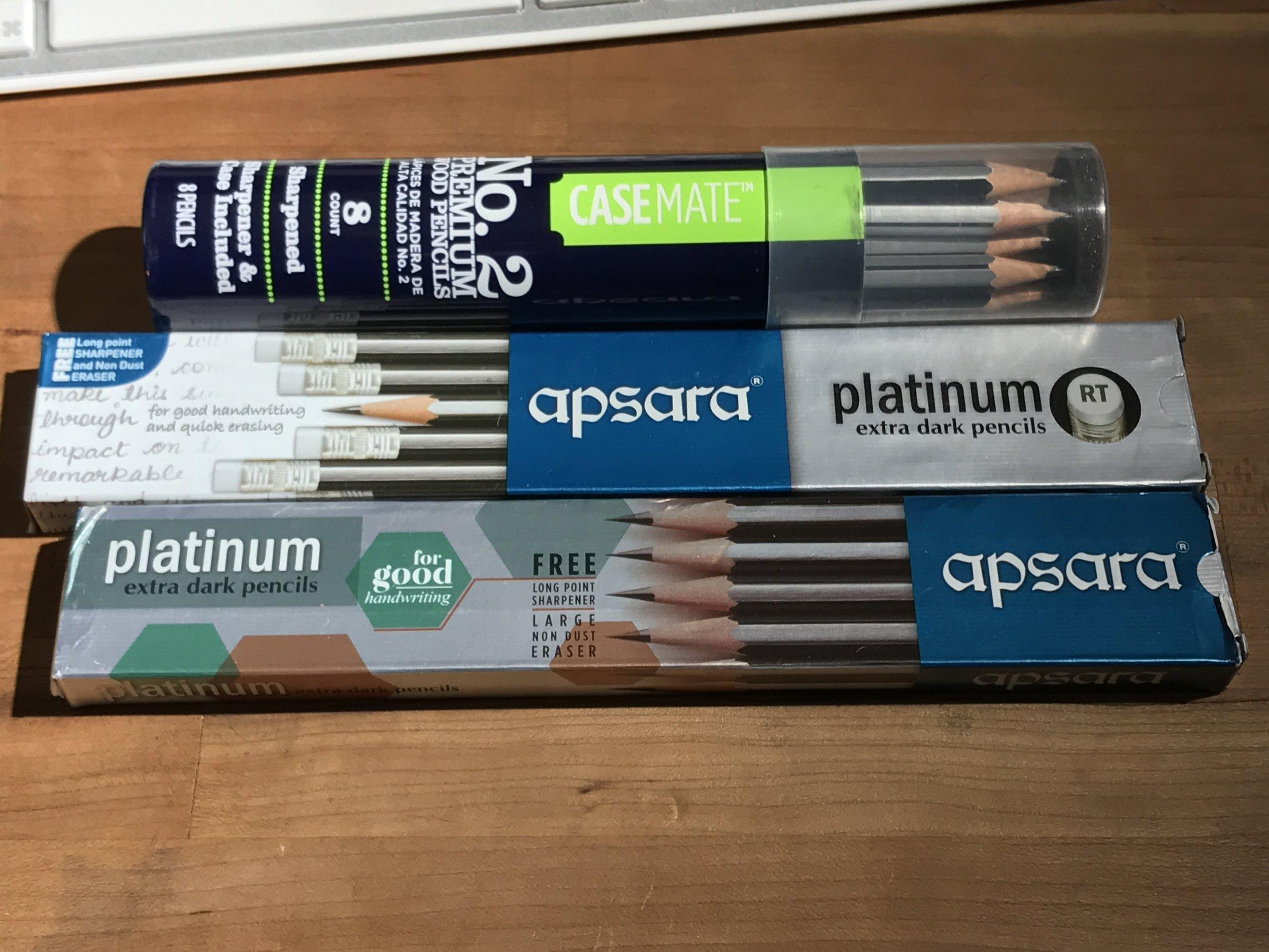 Apsara Platinum Pencil Review — Lead Fast