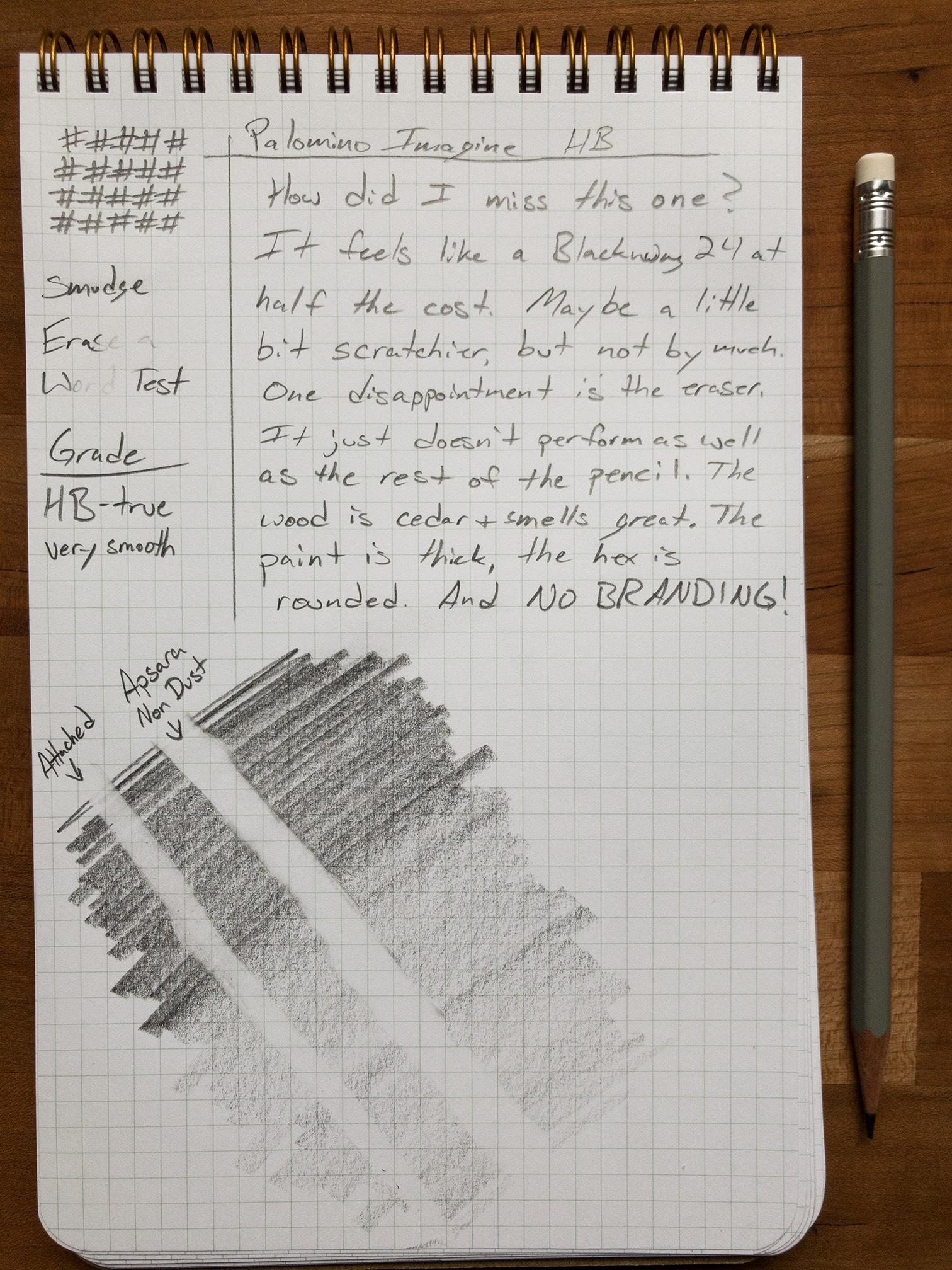 Writing sample.