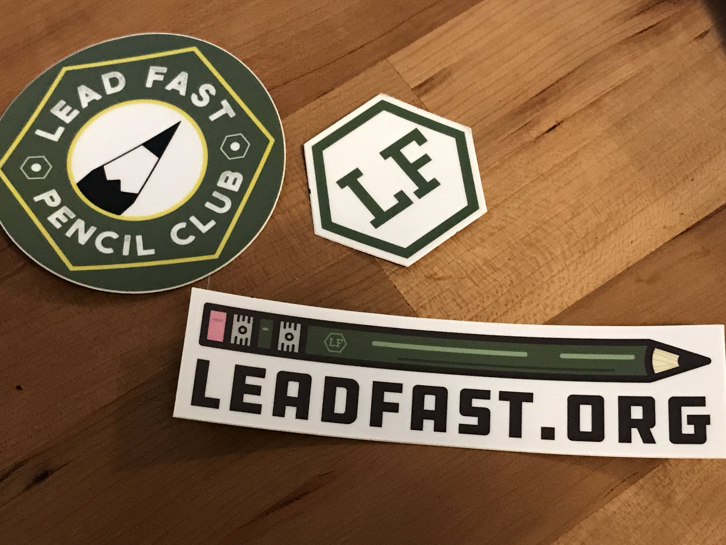 Yay stickers!