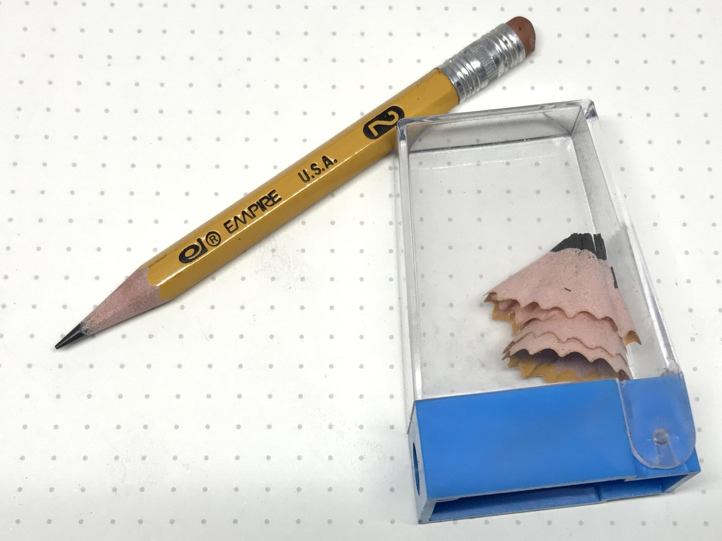 Empire Pencil and Pedigree Sharpener - my grade school tools.