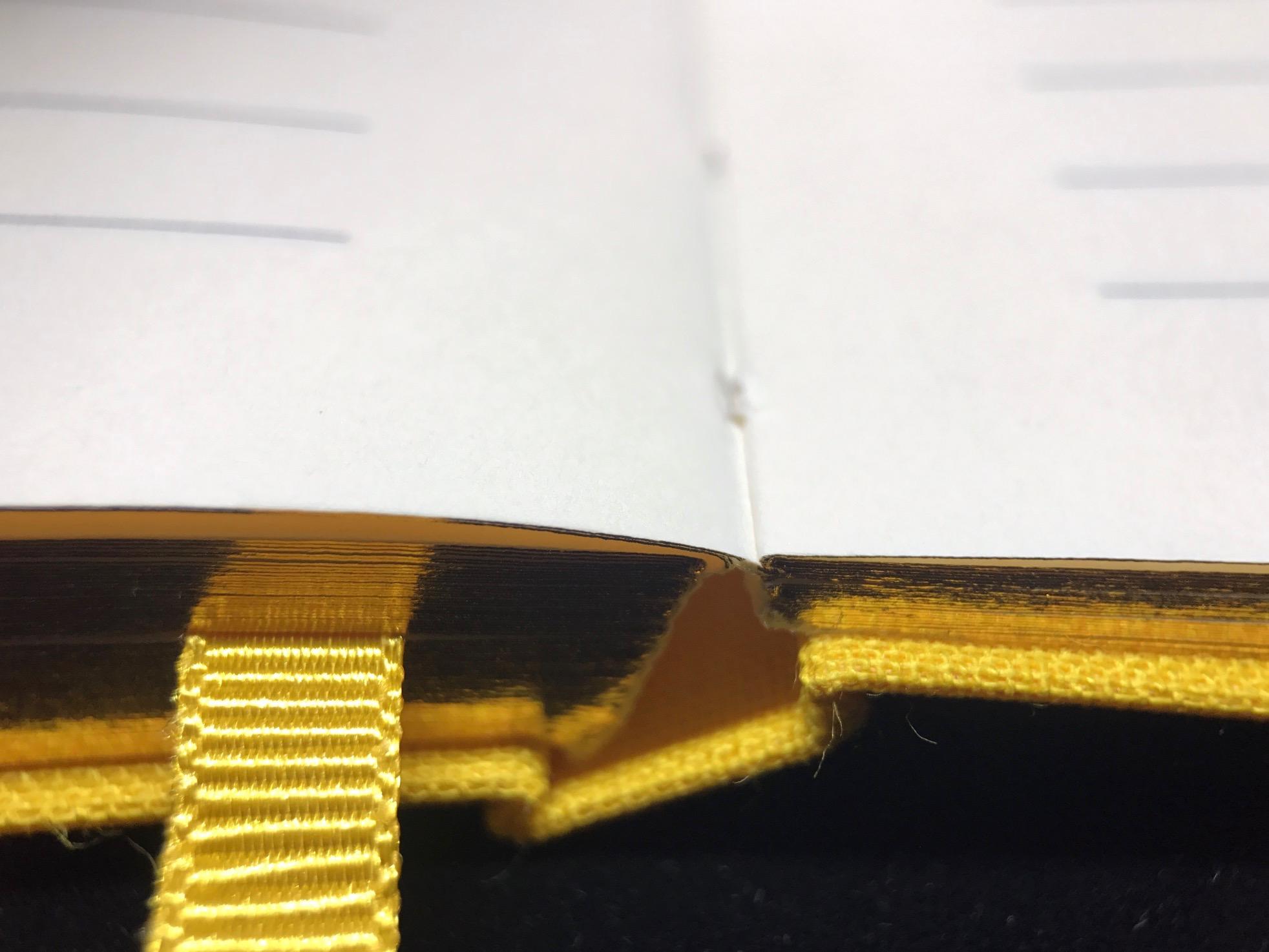 Lay Flat binding.