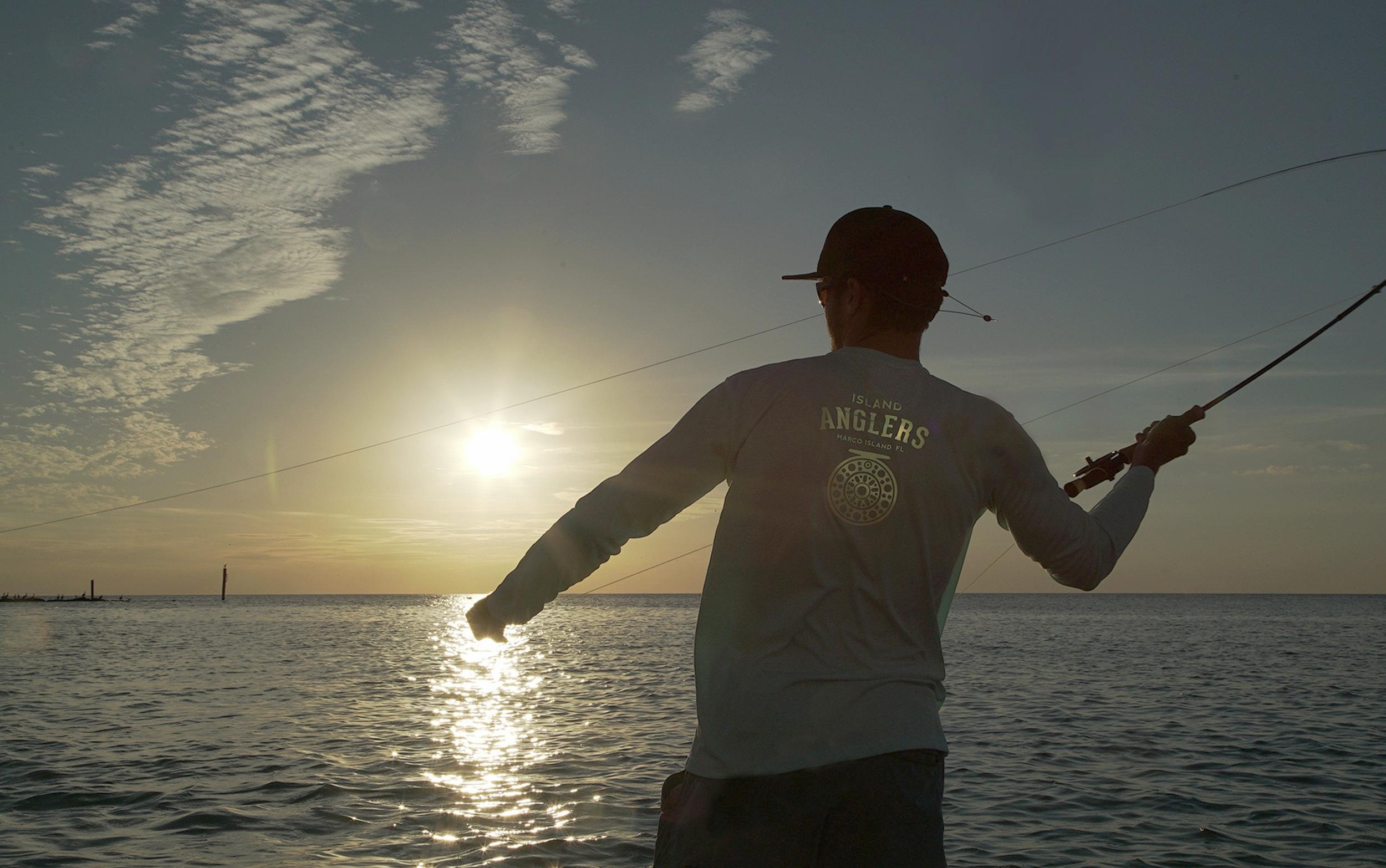 Fly fishing Marco Island