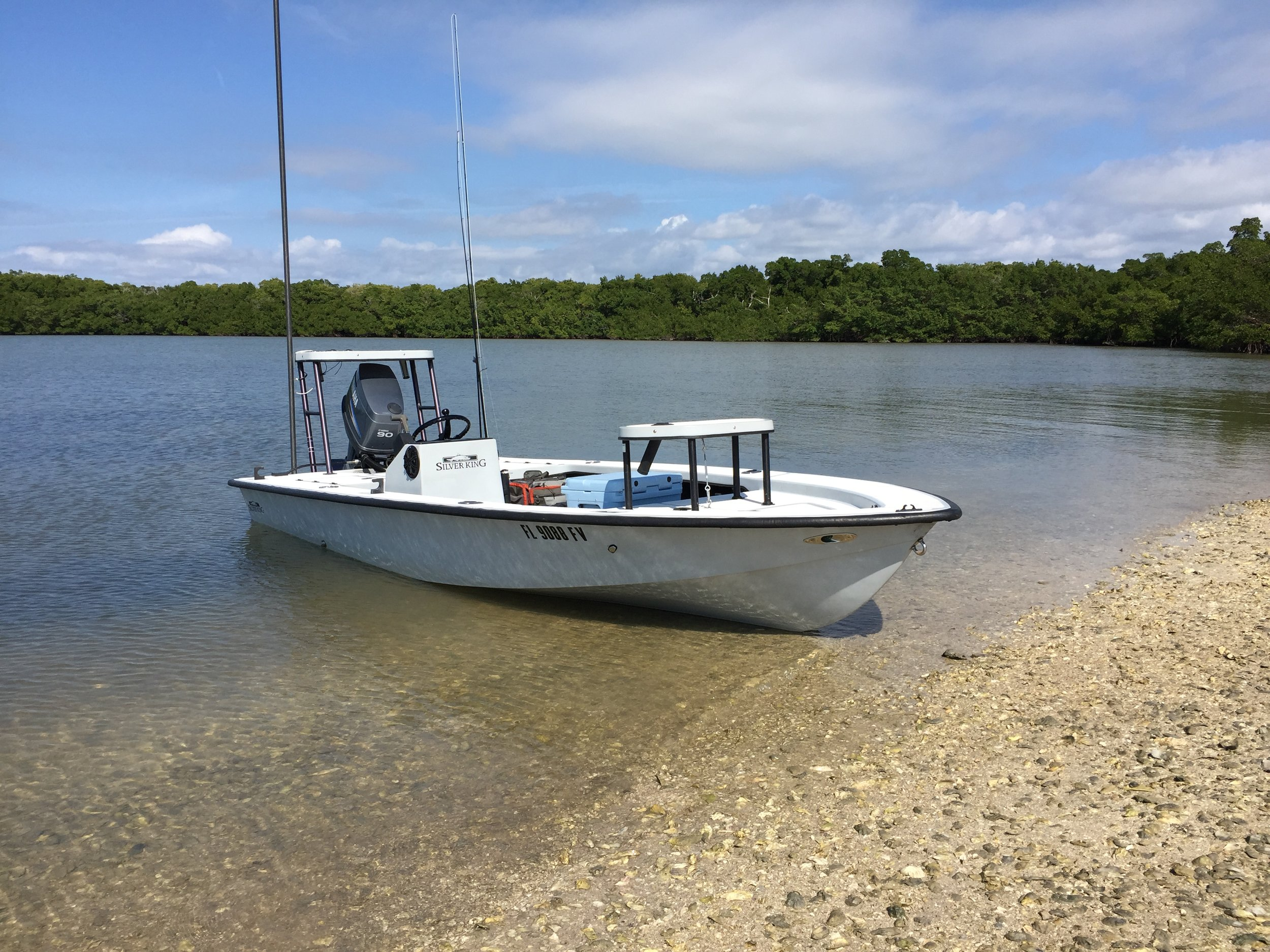 The Skiff - The Silver King 16 Signature Series is a timeless flats boat that has the range and versatility few skiff builds have today. It is very important to have a boat that can draft shallow enough to fish the countless creeks, rivers and connecting waterways that make up the