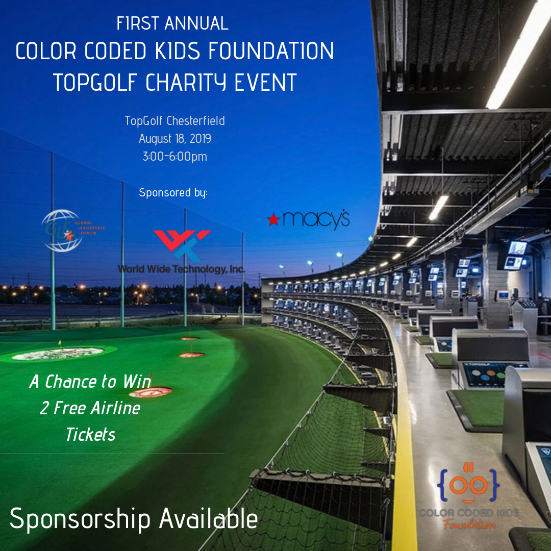Join us for an afternoon of golf, coding and fun! Plus, we will have a raffle that includes a chance to win 2 Airline Tickets and more!