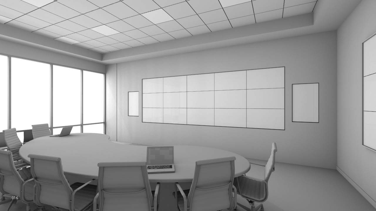 Initial rendering of the Digital Trading Room