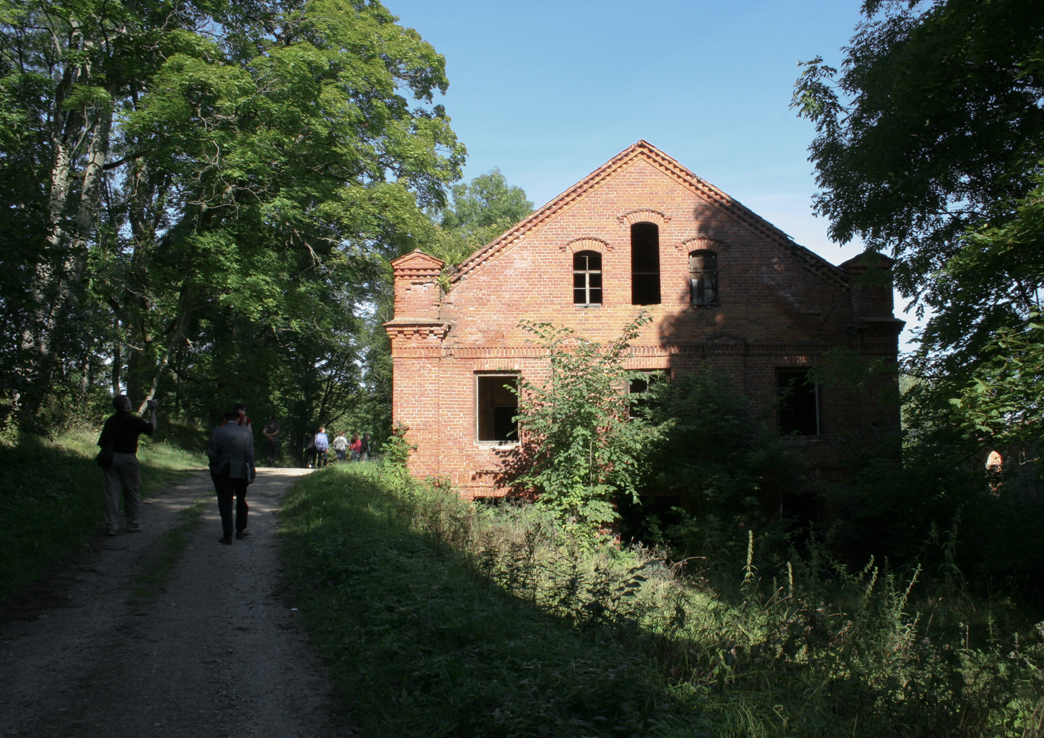 "Finally a day of joy - finding the ""family"" mill in the countryside of Lentvaris"