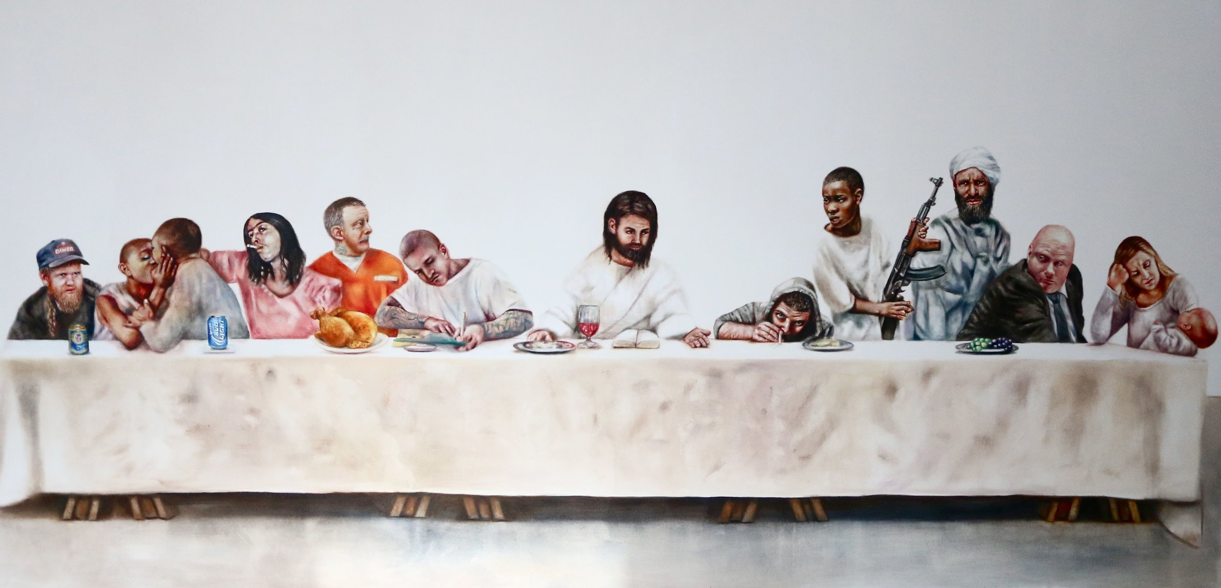 Johan Andersson 'Last Supper'.