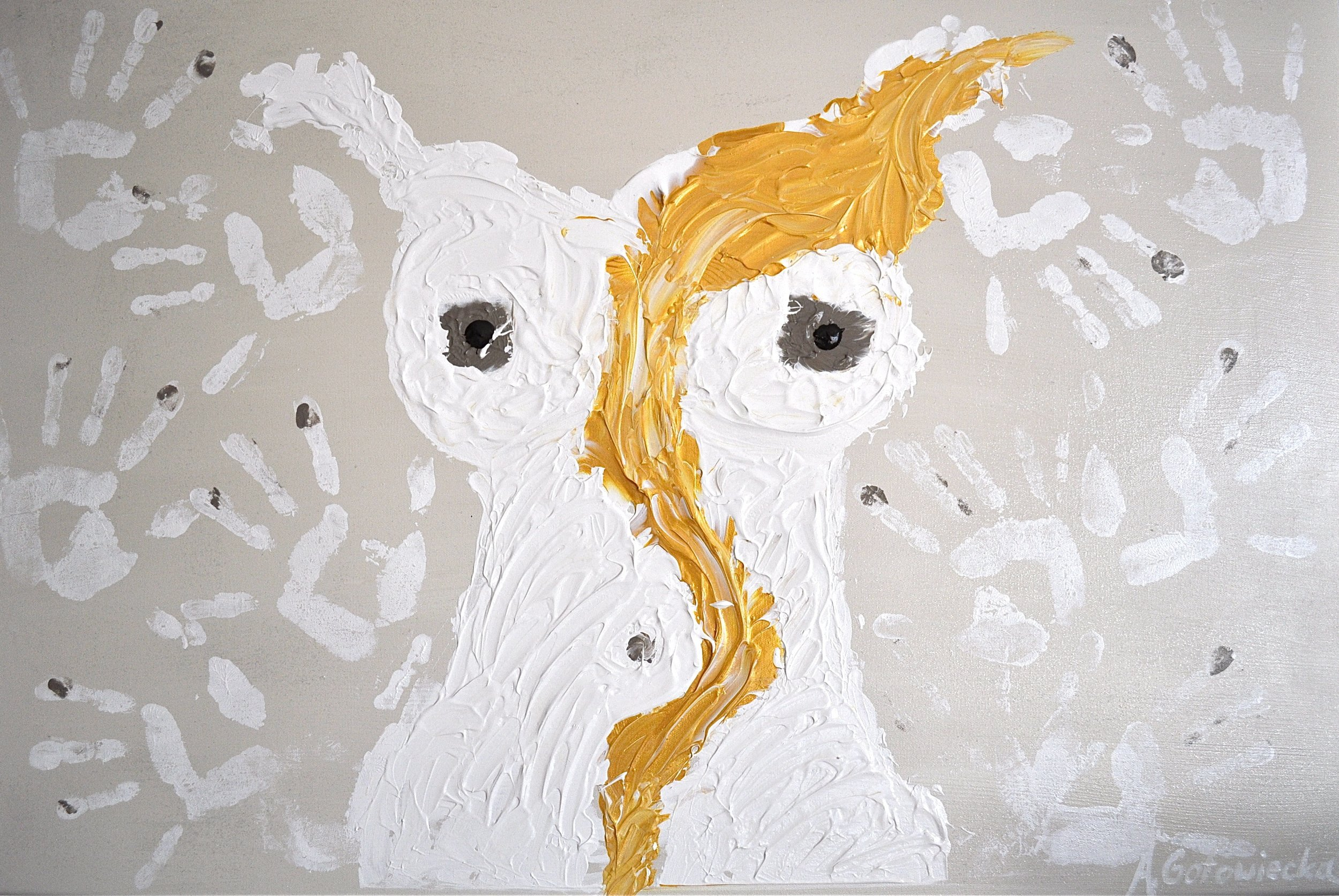 'Ma Philosophie' - WISE WOMAN 60x90cm-2013.JPG