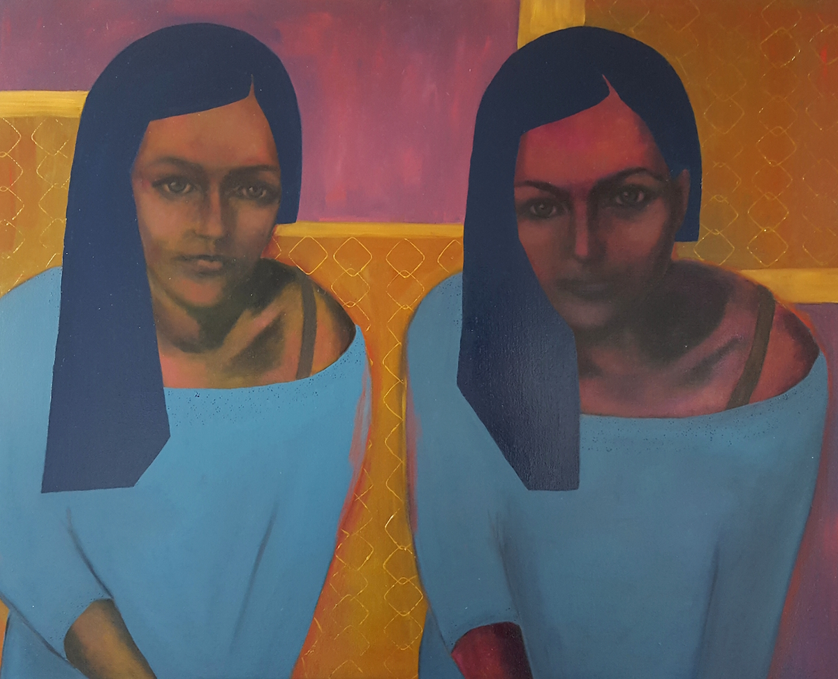 Twins. Pastels, acrylics & oils.jpg