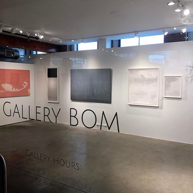 A group show at Gallery BOM