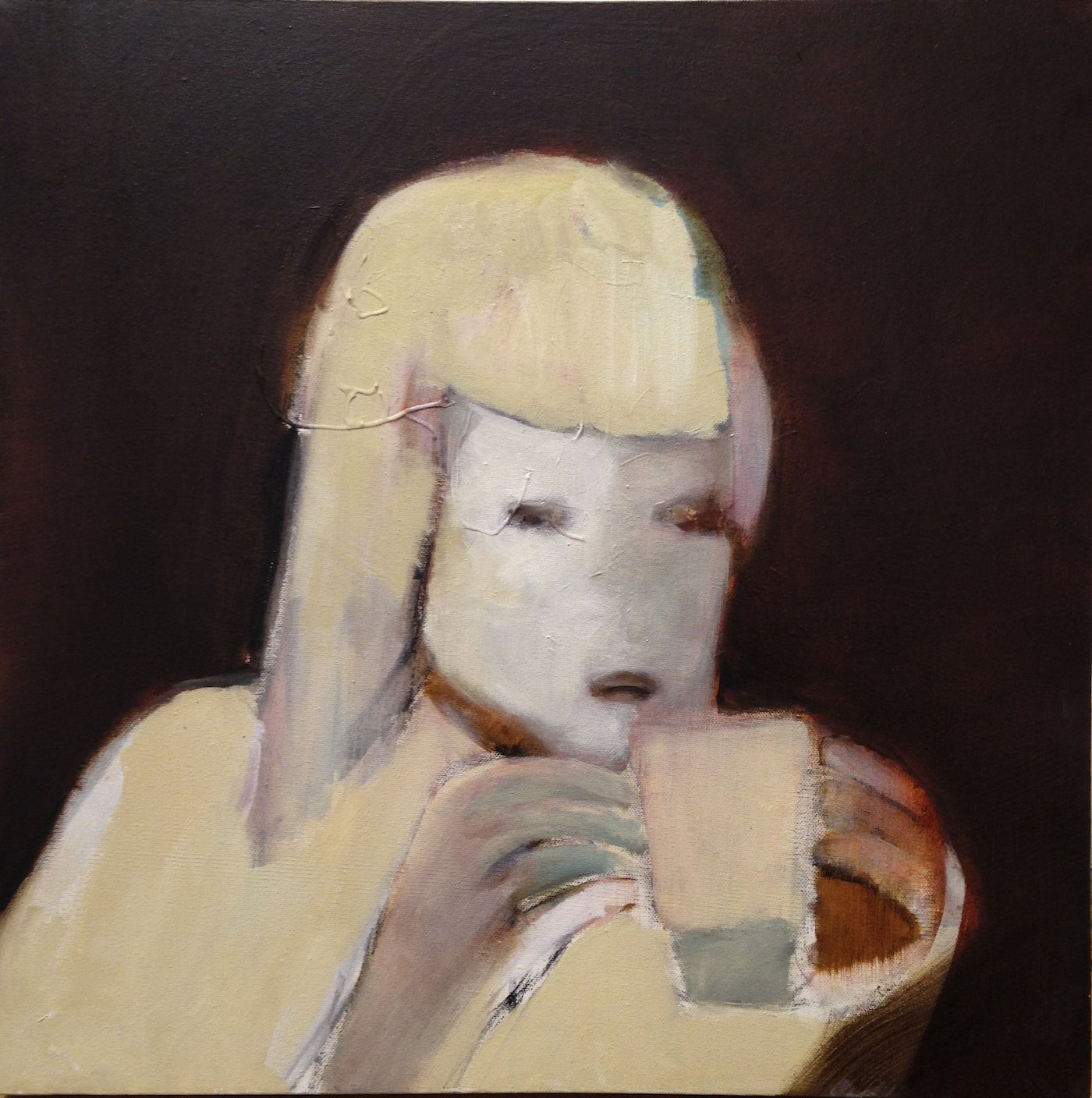 Cup holder_oil paint on canvas_24x24inch_ 2015.jpg