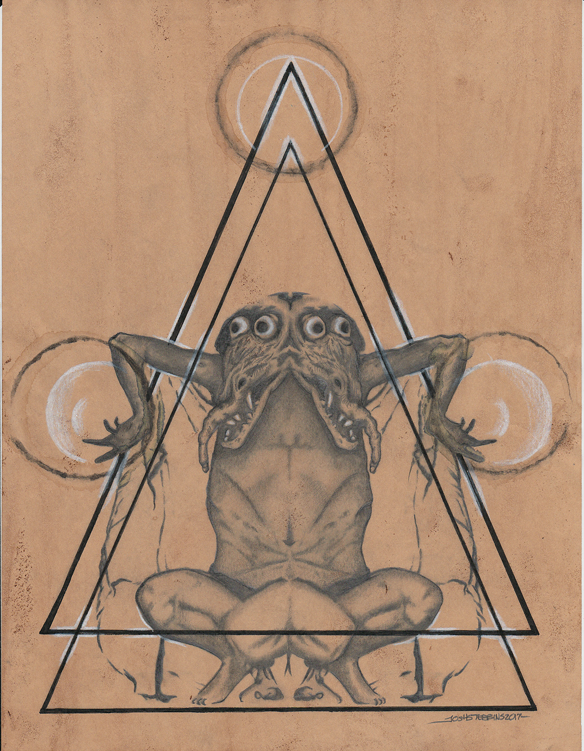 Josh Stebbins, The Incubus, Conjuring Black Triangles.