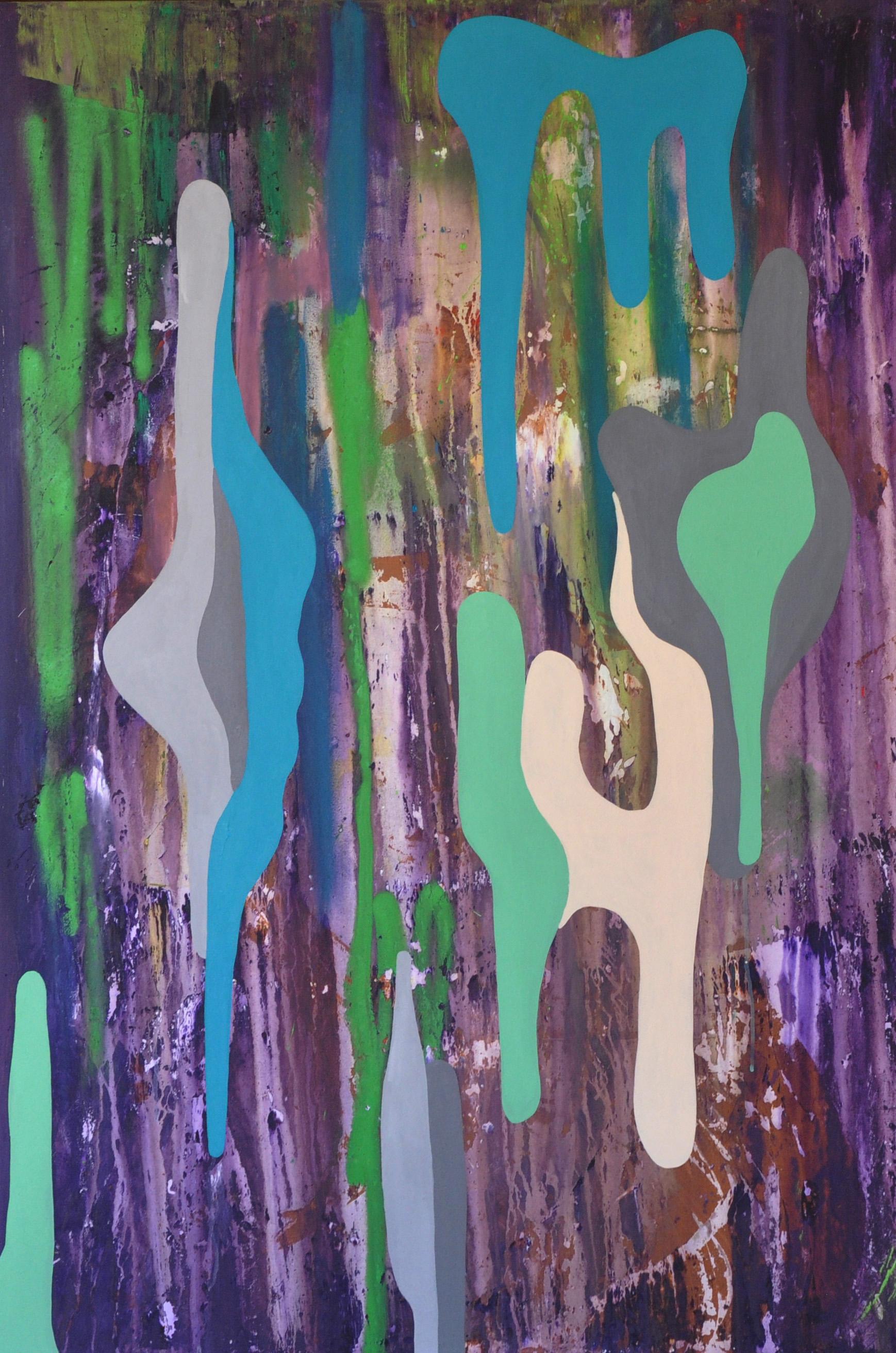 Javier Marten Green Mansions B 2017. 150x100cm. Mixed media_.jpg