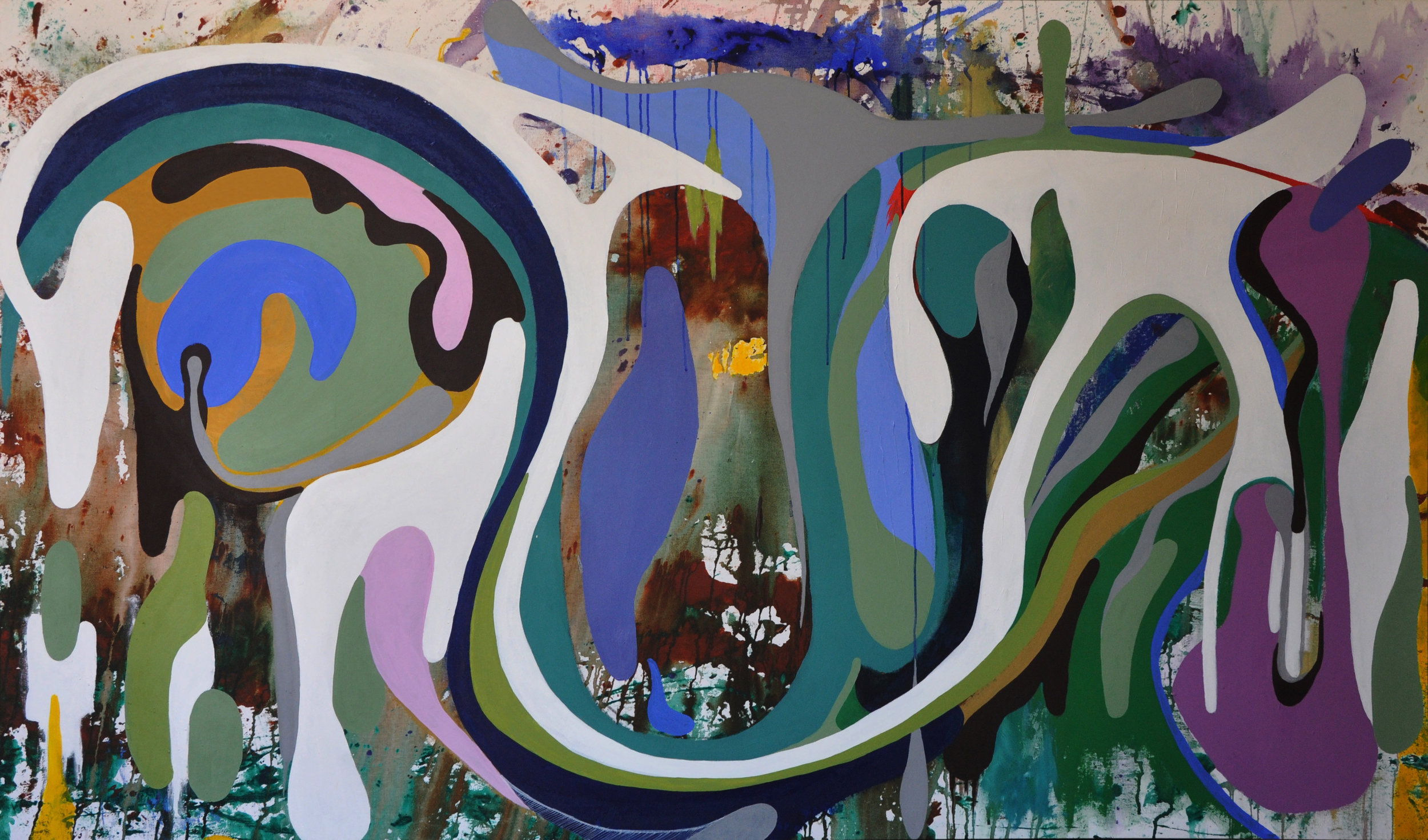 Javier Marten, Connection 2016. 230x125cm. mixed media_.jpg