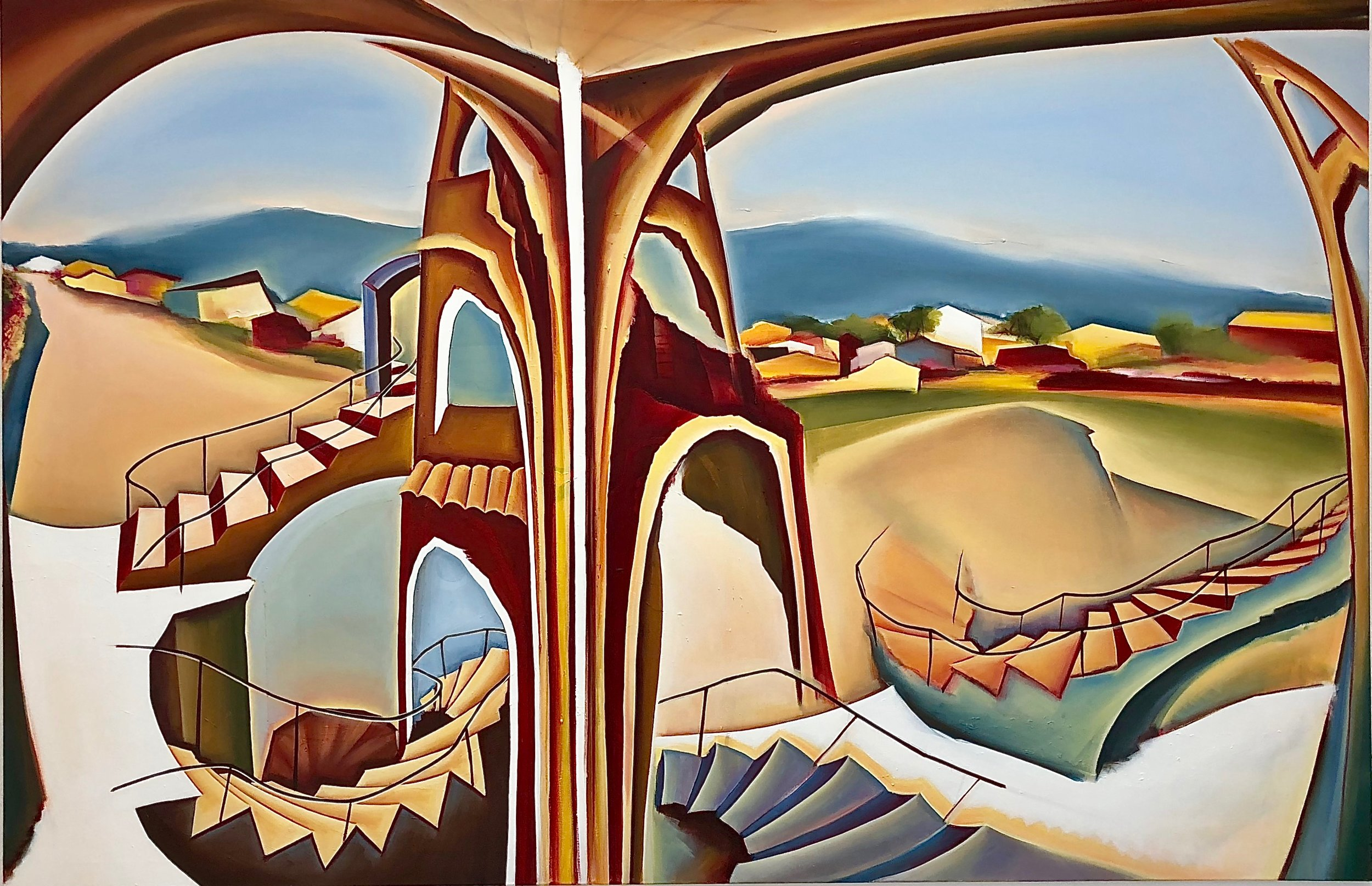 1. Unsentimental journey, Oil on canvas, 130 x 200 cm.jpg