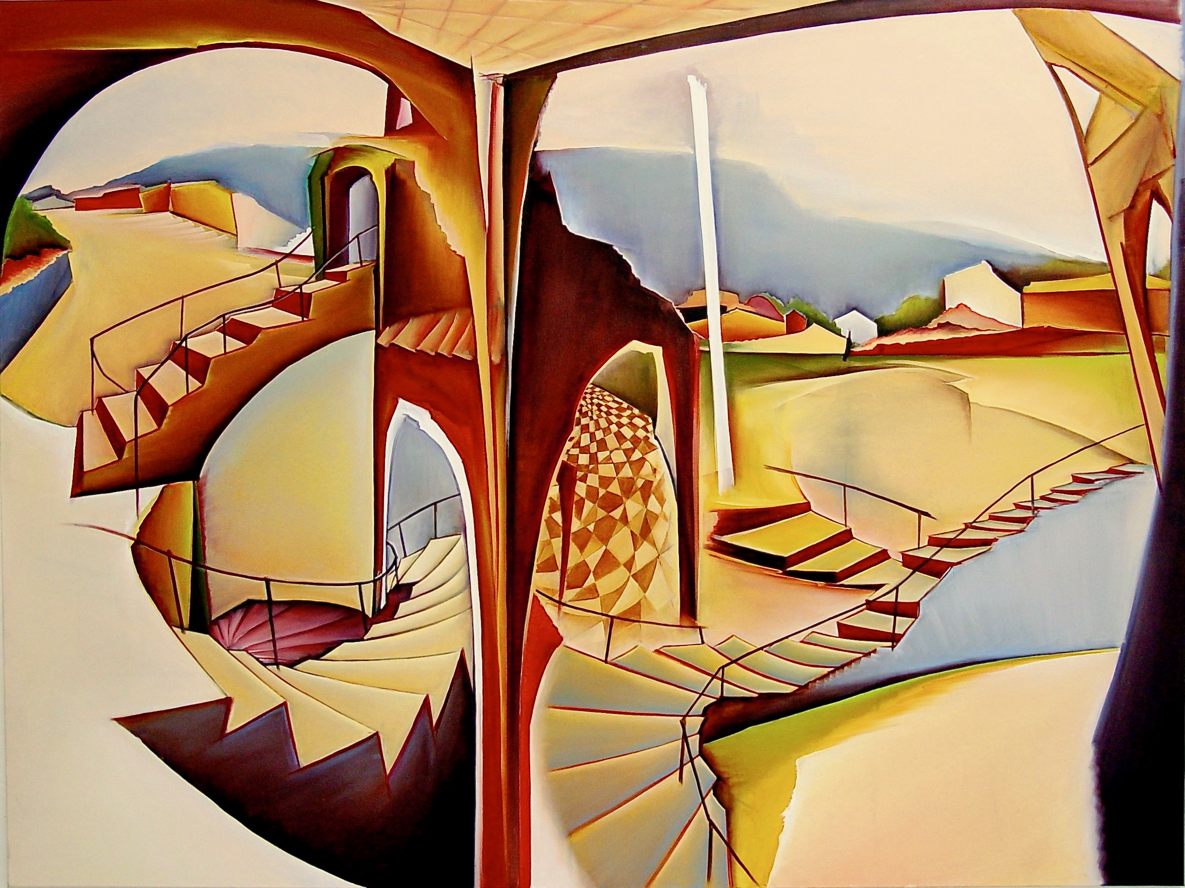 3. Utopia, Oil on canvas, 150 x 200 cm.jpg