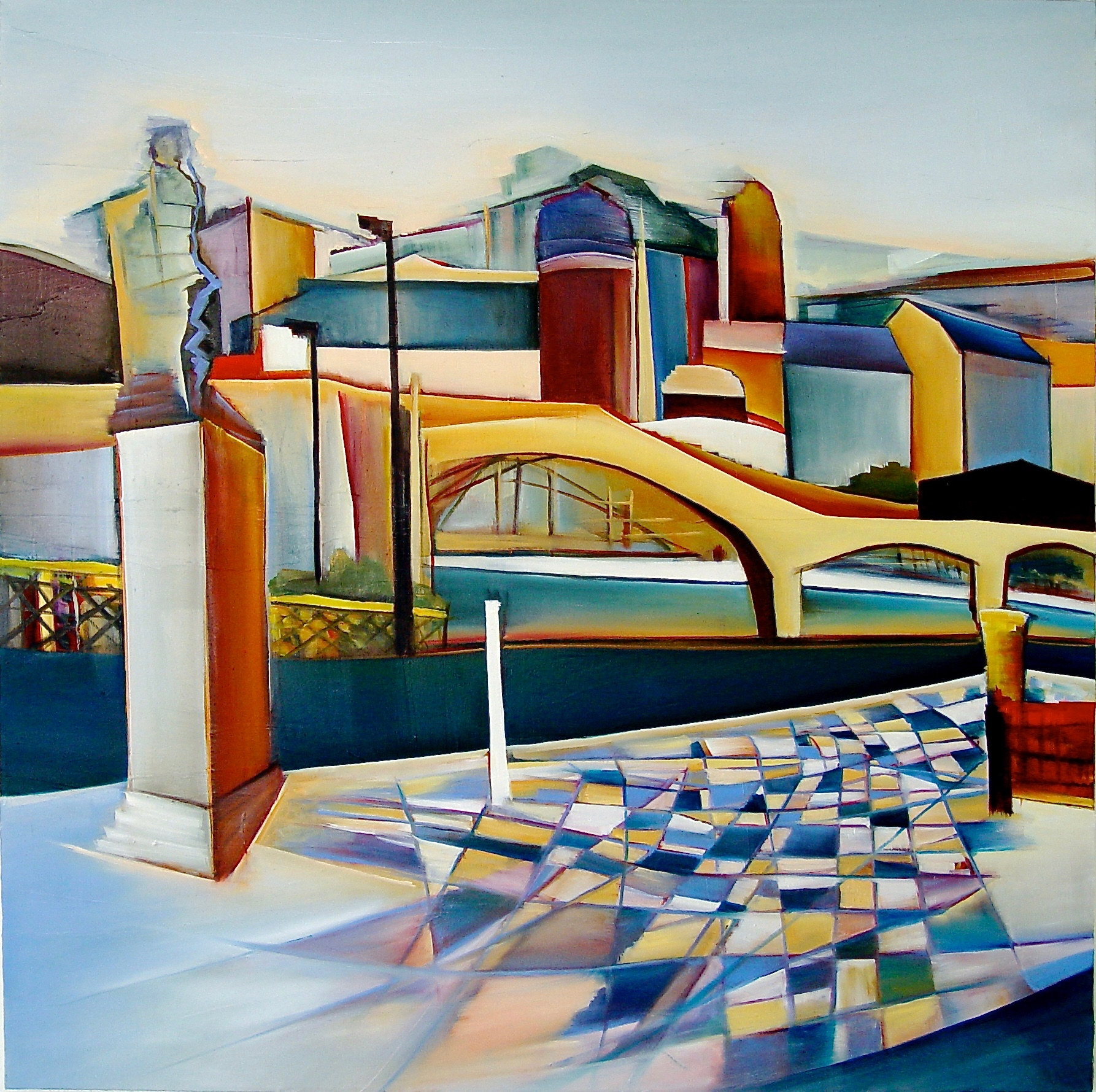 10. Berlin, Oil on canvas, 110 x 110 cm.jpg