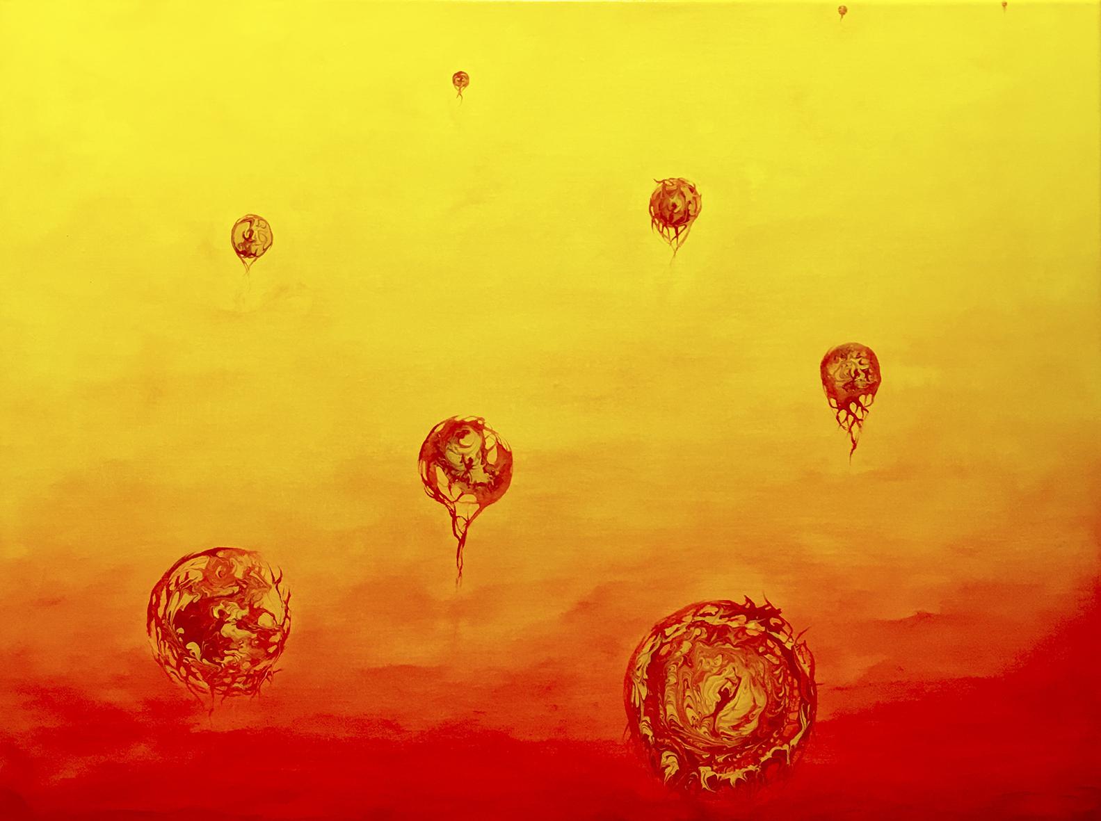 Painting %22Swing in the light%22 80x60cm Christine Marie Nobre Mixed Medias.jpg