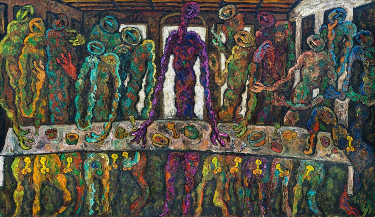 1995最後晚餐  The Last Supper   194.0×112.0cm  120P.jpg