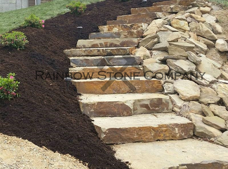 Outcropping Steps