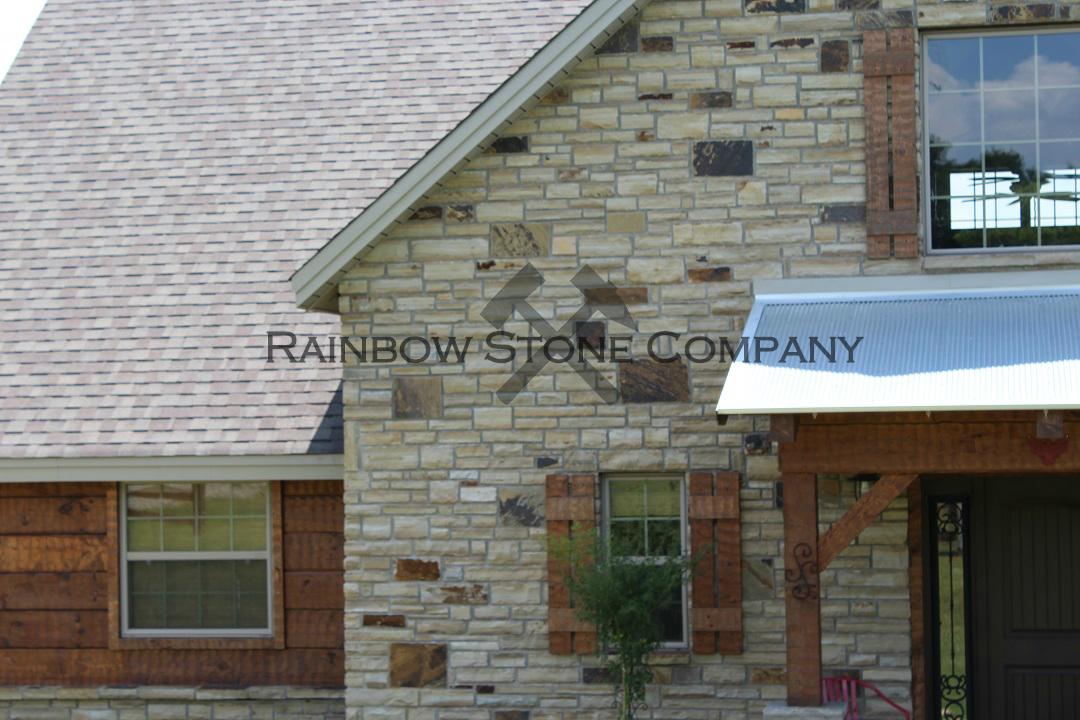 Residential Brindle Cut Stone